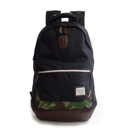 Various colors of 2-layer-type laptop backpack with mesh material