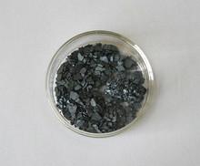 Pure iodine crystals, Crude iodine crystals