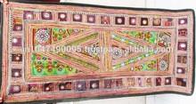 Adorável armas tapeçaria, Indiano parede da tela de suspensão, Tapeçaria artesanal