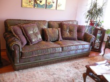 Handmade village Sofas From istanbul TURKEY OEM service to English Brands