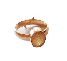 adjustable yellow sapphire ring