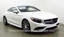 Import/ Export 2015 Mercedes-Benz S-Class S63 Coupe