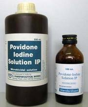 USP Pharmaceutical Povidone Iodine/PVP Iondine/PVP-I CAS No.: 25655-41-8