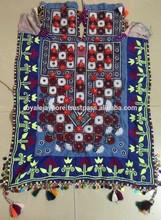 Beautiful Afghani Pakistani Gypsy girl dress Vintage Banjara mirror work dress