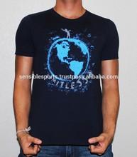 100% cotton mens colorful o-neck plain 3d custom t shirts design