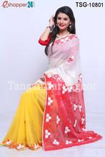 Tangail Moslin Jamdani Saree