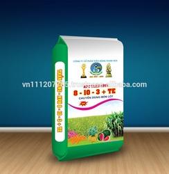 PP woven packaging bag for fertilizer