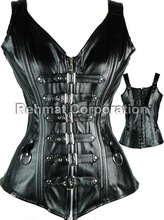 WOMENS GOTHIC BLACK COLOR CORSET SEXY COSTUMES
