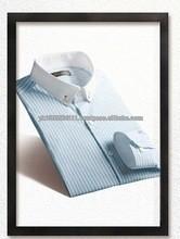 2015 men button down striped casual dress shirt