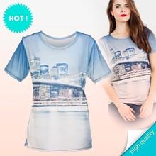 t-shirt fullprint 3D print digital print BRIDGE