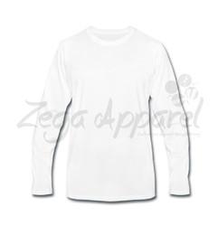 Mens High Quality Blue Cotton Crewneck Short Sleeve T-Shirt
