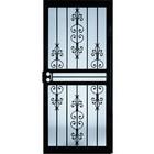 ORIGINAL Shop Larson Garden View Black Steel Security Door