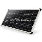 NEW 12V 100W G&P Solar Panel Monocrystalline Home Energy Generator System Cells