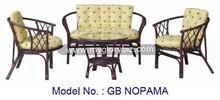 Rattan furniture, Rattan living room sofa, Armchair, Rattan sofa set