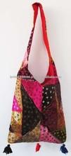 2015 Latest Wholesale Handbags, New Indian New Year Velvet Handbags, Festival Handbags