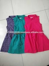 girl's dress, girl's cotton dresses, beautiful summer girl's dresses, MD-181