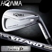 Honma TOUR WORLD TW727P Iron Single item (#3, #4, #11, SW) VIZARD IB85 Graphite carbon shaft Specification branded golf clubs