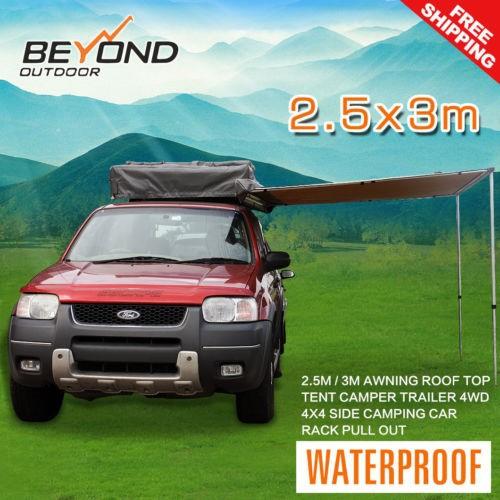 2.5mx3m tente çatı çadır kamp römork 4wd 4x4 kamp araç raf