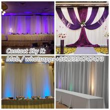 adjustable leveling feet, stage backdrop decorations