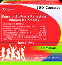 Iron B Flex (Ferrous Sulfate+Folic Acid+Thiamine Monotritrate/Pyridoxine Hydrochloride/Cyanocobalamin/Riboflavin)