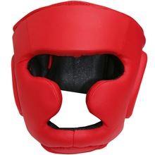 cowhide leather boxing Head Guard, kick boxing Head Gear, boxing head guard