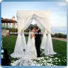 RK aluminum backdrop stand pipe drape wedding crystal backdrop