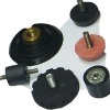 Customized rubber to metal bonding parts