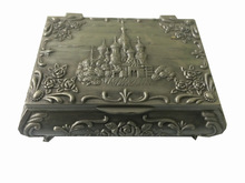 Exclusive Designer Indian Handmade Handcrafted Silver Color Palace Design Jwellery Box Best Home Decor and Gift Item