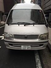 Japanese high quality popular toyota hi ace diesel fuel engine used car for sale 10 passenger