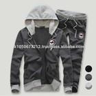custom oem men sweat suit plain cotton fleece sweat suits high quality sweat suit for men