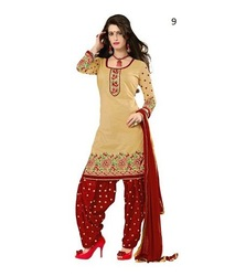 Printed Punjabi Suit | Latest Ladies Suit