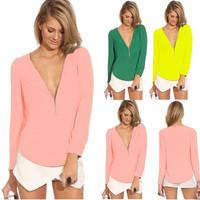 Summer Fashion Shirt Long-Sleeved Women's Dress no.wsls3001