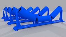 Conveyor Rollers, Idlers and Impact Beds