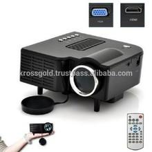 Digital Mini Projector Resolution Native VGA 80*480 Pixels Maximum Resolution Full HD (1920 x 108 Pixels) , through HDMI
