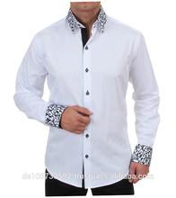 H.K. Mandel 2015 men's cotton shirt mens casual long-sleeved casual shirt slim fit