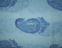 Indian Jaipur Handmade Block Print White base blue Wholesale good price Natural Sanganeri 100% Cotton Fabric Manufacturer