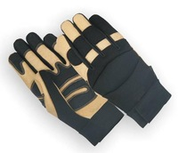 Mechanic Glove / Artificial Amara leather Gloves / Working Gloves