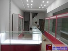 System design display cabinets phone for shop,store