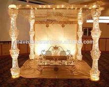 wedding pillar / wedding stage pillars / crystal padestal