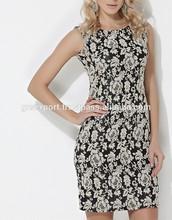 Women Fashion Mini Dress Sleeveless Sexy Clothes Wearing Spring 2015