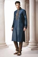 Triveni Remarkable Neck Designed Wedding Kurta Pajama 3772