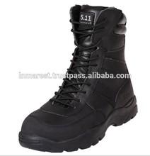 military desert black & khaki boot