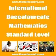 International Baccalaureate Mathematics Standard Level (IB SL)