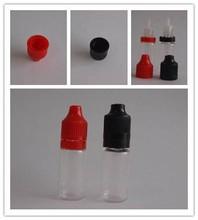Wholesale 2500pcs 10ML PE/PET plastic bottles with security pressure screw cap