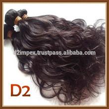 Original Indian Cabelo natural brazilian hair pieces