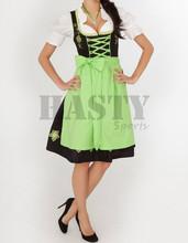 2015 Wholesale New Design 3pcs Bavarian Women Dirndl Dress