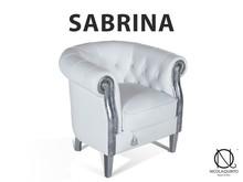 Italian Sofa Cuddle Armchair, Genuine Leather, Chester SBR