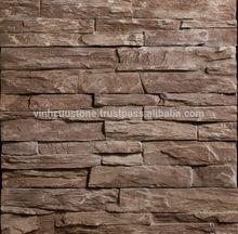 Cheap Light Concrete Ledge stone - Vietnamese Art Ledge Stone