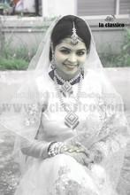 classical wedding dress