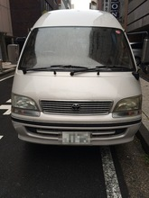 Japanese high quality popular used toyota hiace van price reasonable in japan diesel fuel engine 10 passenger